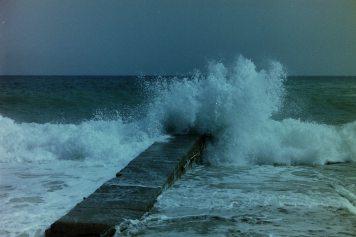 Wellen auf Mallorca