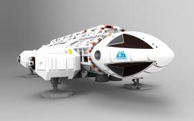Adler aus Mondbasis Alpha 1