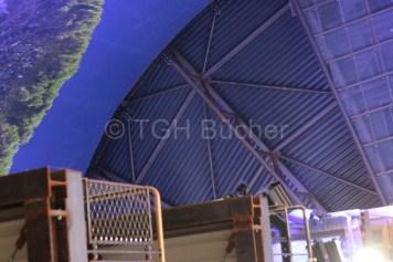 Bildausschnitt und Decke des Panoramas und des Gasometers